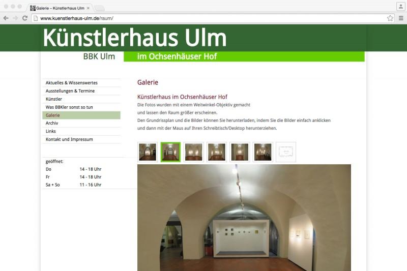 Internet Kunstlerhaus Ulm Maschuthi Ko Buro Fur Gestaltung